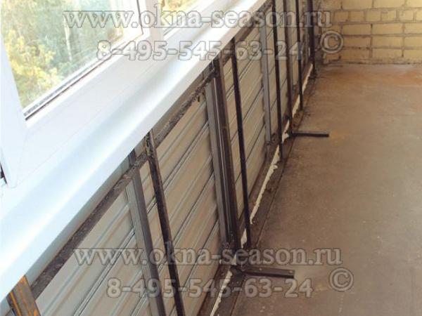 Сушилка для белья электричество на балконе лоджии укрепление.