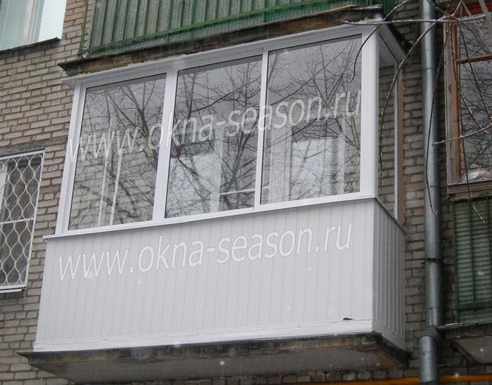 Обзор остекления балконов в хрущевках и цены на их - upstore.