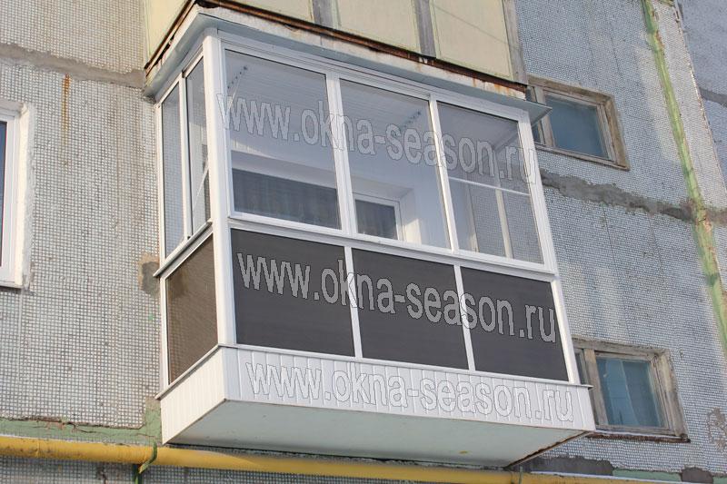 Остекление лоджии и балконов в москве красногрске люберцах в.
