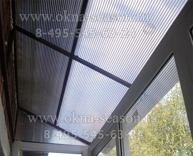 крыша из ополикорбоната
