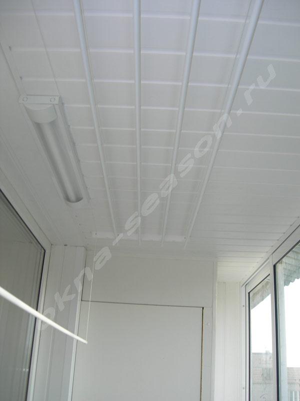 отделка крыши остекление балкона с крышей