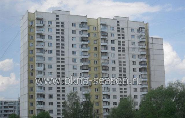 Остекление балкона п-3 серии дома..