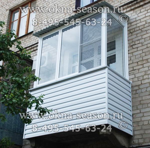 Всё про остекление балконов в сталинских домах..
